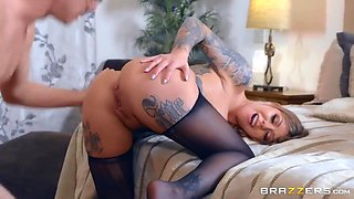 Markus Dupree And Karma Rx - Big Boobed Aunt Getting Ass Fucked By Her Sisters Son