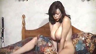 BEDROOM STRIPTEASE - vintage British big tits