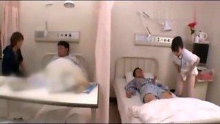 Japanese hospital nurse fucks 1
