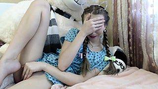 Cam brunette emo teen webcam solo
