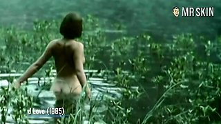Sophie Marceau loves flashing them titties and her ass looks amazing