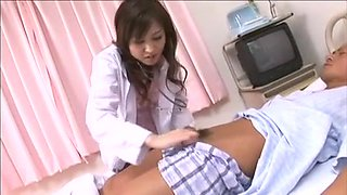 Japanese Nurses Gather The Sperm (Uncensored)
