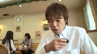 Hottest Japanese slut Yuki Natsume in Incredible Blowjob/Fera, Handjobs JAV movie