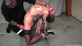 Sexy Secretary Kidnapped and Turned Into Bondage Slave
