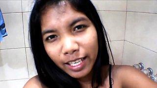 Pregnant Heather Deep Thai Asian Teen Deepthroating