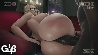 Samus Aran vs Huge Black Cock Gb