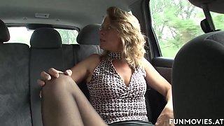 Marga in German Granny in Public - FunMovies
