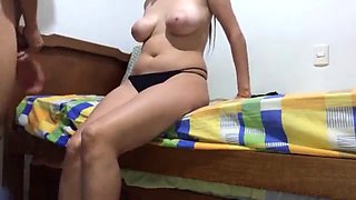 18 years old sexy girl fucked by step brother