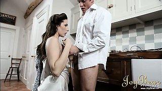 Sensual wife and husband
