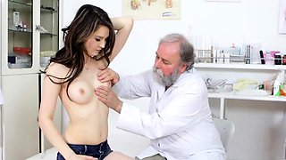 Playgirl and her doctor are having a worthwhile fuck time