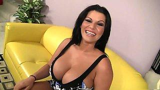 Hottest pornstar Angelina Castro in exotic blowjob, brazilian porn movie