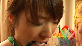 Amazing Japanese girl in Hottest Blowjob/Fera, BDSM JAV scene