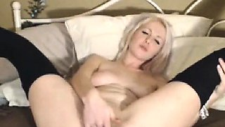 Naughty Webcam Chick Rides and Fucks her Dildo