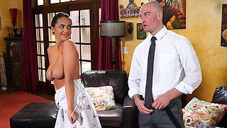Sofi Ryan & Zac Wild in Her Husband's Boss, Scene #01 - FantasyMassage