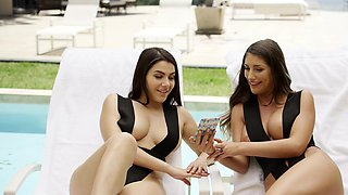 Two Rich Cheating Housewives Share a BBC