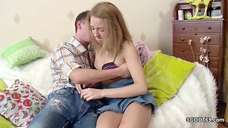 Virgin stepsis Get First Fuck by Step-Bro With Big Cock