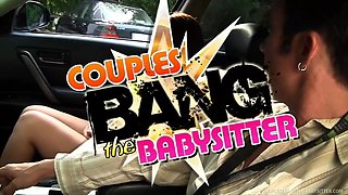 Cute Babysitter Ravaged By Hawt Swinger Pair