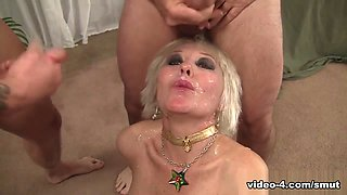 Dalny Marga in Mature Blond Dalny Marga Gets Gangbanged - SmutMerchants