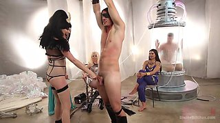 Mistresses Dominate Their Sex Slave