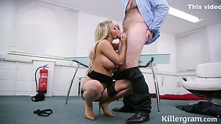 Sienna Day is fucking her boss, every once in a while, although he is married