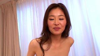 Best Japanese girl Natsume Iroha in Horny JAV censored Swallow, Small Tits video