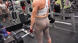 Fitness hot ass hot cameltoe 56