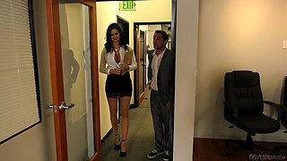 his busty boss loves fucking in the workplace @ big tit office chicks #06