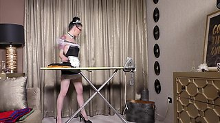 Naughty tattooed maid being fucked by her boss - Anna De Ville